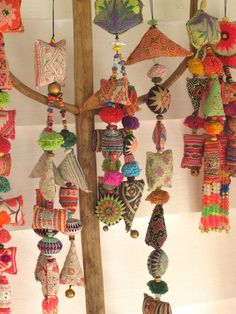 Handmade tassels from Gypsy River