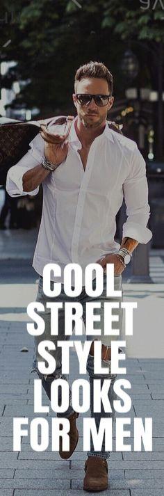 COOL STREET STYLE LOOKS FOR MEN #MENSFASHION #fallfashion #streetstyle