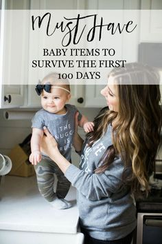 Mom + Baby // Newborn Must Haves to Survive the First 100 Days | New Baby Tips | Tips for Newborn Babies | Newborn Tips and Tricks || Lauren McBride