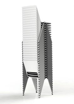 Design Ballendat's Hyper-Efficient Stacking Chairs, Benches and Tables
