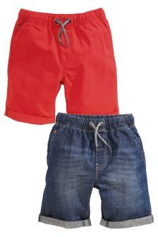 Nēxt Pull-On Shorts Two Pack (3-16yrs) £14.50