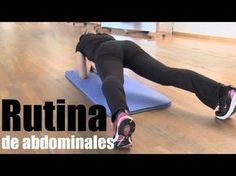 Vientre plano: Rutina ejercicios de abdominales isométricos - YouTube