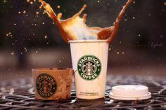 Starbucks Coffee Splash Candice Elizabeth Photography