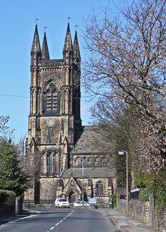 St Mary's, Mirfield, Yorkshire, ENGLAND.    (by Tim Green aka atoach), via Flickr