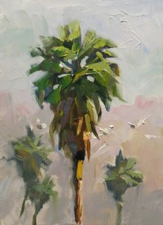 palm tree painting - Google Search