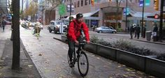"""7 tips for new bike commuters. Have you ever thought about #cycling to work … and then thought, """"I don't think I can do that""""? Yes, you can! In this post, we have 7 tips for new bike commuters. We hope these will encourage you to get going on your bike! Use a free cycling app such as Strava to find recommended biking routes in your area that have less traffic."""