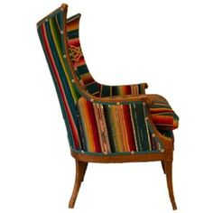 Serape Upholstered Chair
