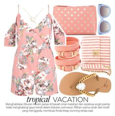 """""""WELCOME TO PARADISE: TROPICAL VACATION"""" by noraaaaaaaaa ❤ liked on Polyvore featuring Balenciaga, Shiraleah, Chanel, A Weathered Penny, Boohoo, Giuseppe Zanotti, Alice + Olivia and TropicalVacation"""
