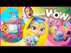 BIGGEST SURPRISE EGGS OPENING! Surprise Toys Shopkins Finding Dory Trolls DISNEY - YouTube Poppy And Branch, Shimmer N Shine, Finding Dory, Lol Dolls, Shopkins, Kids Bags, Disney Cars, Troll, Poppies