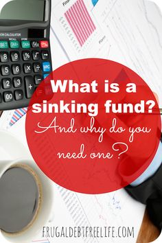 Why you need a sinking fund and how to start one. This is a great way to save for little things like Christmas or even big things like a new roof or car.
