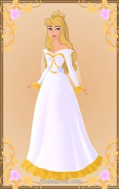 Super Ideas For Wedding Dresses Disney Aurora Briar Rose Disney Princess Fashion, Disney Princess Aurora, Disney Princess Dresses, Barbie Princess, Disney Wedding Dresses, Disney Dresses, Arte Disney, Disney Fun, Gold Glitter Bridesmaid Dresses