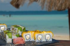 Fresh #sushi by the Sea!