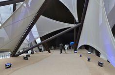 Kuwait Pavilion was designed by Italo Rota architects