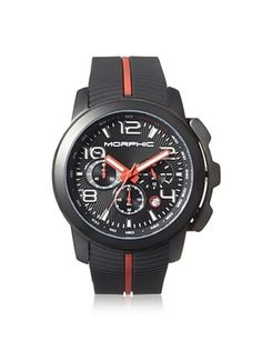 83% OFF Morphic Men's MPH2205 M22 Series Black Rubber Watch