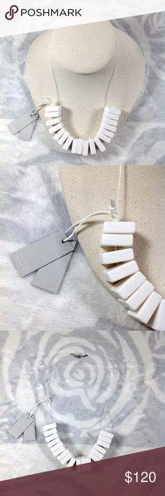 🆕NWOT COS minimalist geo cube necklace. ⚠️No trade. 🎉3+ listing for 15% off.  🎉see more pics on IG @shopjanes_closet.  😍Details: brand new with tag. COS Jewelry Necklaces