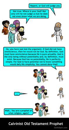Meme Monday – Calvinist Old Testament Prophet.
