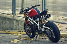 Pursang is the latest custom out of the Spanish motorcycle garage, Radical Ducati. Already famous for their ...Radical Ducati..Ducati customs...
