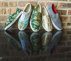 Bucketfeet Artist inspired sneakers.