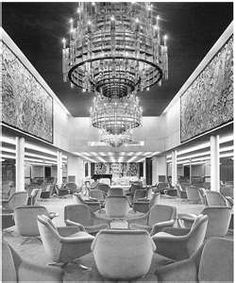 """The 1st class ballroom """"Fiorenza"""" of Michelangelo - La sala da ballo ... Normandie"""