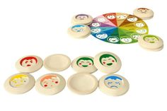 My Mood Memo by Plan Toys helps kids identify feelings and read expressions.