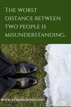 Clearing up misunderstandings quickly is the practice of happily married couples.