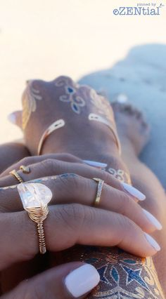 Hippie accessories. Jewelry ring bracelet. For more follow www.pinterest.com/ninayay and stay positively #pinspired #pinspire @ninayay