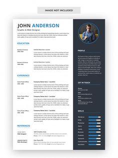 Interior Design Resume, Cv Design, Resume Design, Creative Cv Template Free, Resume Template Free, Free Resume, Cover Letter For Resume, Professional Resume, Printable Worksheets