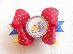 Caillou Small Layered Boutique Bottle Cap by MyLittleChicBowtique, $3.50