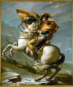 Napoleon by Jacques Louis David (1801)