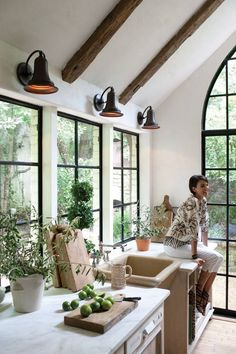Love the open windows and the designers.