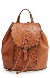 Patricia Nash 'Savona' Leather Backpack