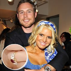 Jessica Simpson and 2nd husband Eric Johnson: Top 23 Enviable Celebrity Engagement Rings - Jeweller Magazine: Jewellery News and Trends