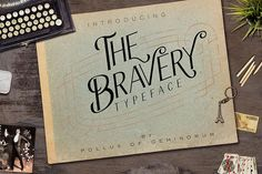 The Bravery Typeface - Free Font of The Week from FontBundles.net