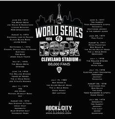 Cleveland Concerts, Cleveland Baseball, Cleveland Rocks, Cleveland Ohio, Cuyahoga Falls, Buzzard, The Beach Boys, Parma, Pink Floyd