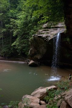 Old Man's Cave, Hocking Hills State Park in Ohio