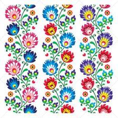 Polish Folk Art Designs Folk pattern