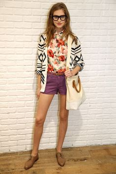 Madewell RTW Spring 2013   I want that lovely floral blouse