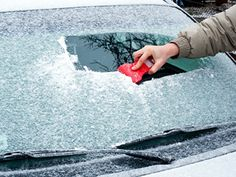 Save yourself the trouble of scraping--rub a raw onion half on your windows and windshield the night before a big freeze; this strange little car trick will keep frost from forming on the glass. Another way to avoid ice? Cover your windshield with rubber bath mats. rd.com (Readers Digest) Read more: http://www.rd.com/slideshows/car-tricks-winter/#ixzz2pqjZlrxh