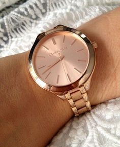 Rosegold Michael Kors watch