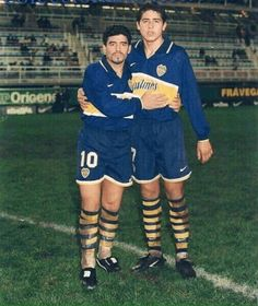 maradona y roman Lionel Messi, Football Drills, Football Soccer, Pure Football, Argentina Football, Diego Armando, Legends Football, World Football, Goalkeeper
