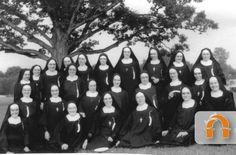The Sisters of St. Francis, Sylvania 1958. #HistoryNun http://www.sistersosf.org