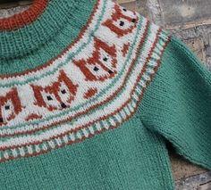 Image of Rævestreger - Unisex sweater til de mindste str. 6 år