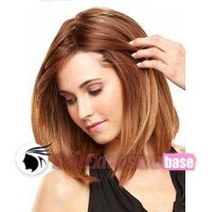 light auburn hair | Straight Short Synthetic Hair Wigs #28 Light Auburn no 1