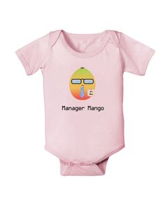 Manager Mango Text Baby Bodysuit One Piece