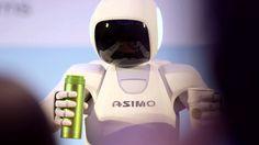 ASIMO Visits The Big Apple