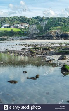 Download this stock image: A view from Traeth Bychan on Anglesey - H32JM0 from Alamy's library of millions of high resolution stock photos, illustrations and vectors.
