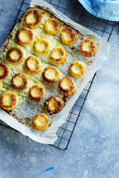 Cheese Souffles #food #recipes #unsw