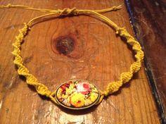Yellow Rose Bracelet by BeccasjamsandCrafts on Etsy https://www.etsy.com/listing/232802890/yellow-rose-bracelet