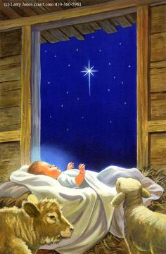 """Baby Jesus"" by Larry Jones"