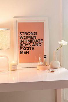 Honeymoon Hotel Strong Women Art Print